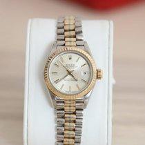 Rolex Lady-Datejust Or blanc 26mm Or