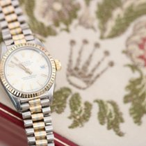 Rolex Lady-Datejust White gold 26mm Gold