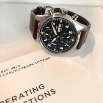 IWC Pilot Spitfire Chronograph новые 2020 Автоподзавод Хронограф Часы с оригинальными документами и коробкой IW387903