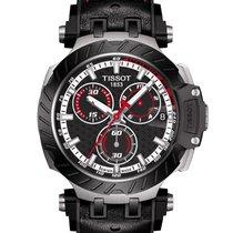 Tissot T-Race Acero 43mm Negro Sin cifras