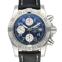 Breitling Avenger II Steel 43mm Blue United States of America, New York, New York
