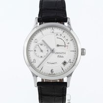Zenith Elite Power Reserve Acero 37mm Blanco España, Madrid