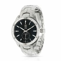 TAG Heuer Link Calibre 6 Steel 40mm Black United States of America, New York, New York