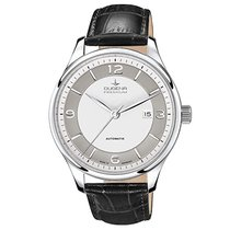 Dugena Steel Automatic White Arabic numerals 42mm new Epsilon