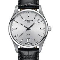 Certina DS-4 Steel 40mm Silver No numerals