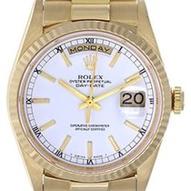 Rolex Yellow gold 36mm Automatic 18238 pre-owned