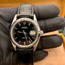 Rolex Oyster Precision Сталь 34mm Чёрный Без цифр