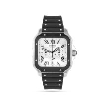 Cartier new Automatic 43.3mm Steel Sapphire crystal