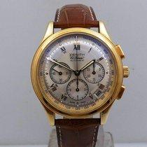 Zenith El Primero nuovo Automatico Cronografo Orologio con scatola originale 30.0500.400