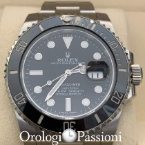 Rolex Submariner Date 116610LN Muy bueno Acero 40mm Automático