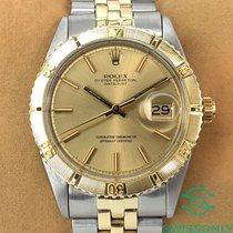 Rolex Datejust Turn-O-Graph Gold/Steel 36mm Champagne No numerals