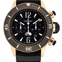 Jaeger-LeCoultre Master Compressor Diving Chronograph GMT Navy SEALs Pозовое золото 46.3mm Черный