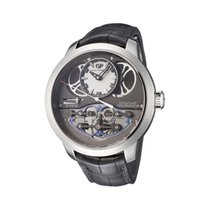 Girard Perregaux Bridges Or blanc 48mm Noir