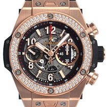 Hublot Big Bang Unico Rose gold 45mm Silver