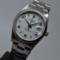 Rolex Oyster Perpetual Date Ατσάλι 34mm Άσπρο Αραβικοί Ελλάδα, ATHENS