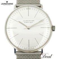 Junghans max bill Handaufzug occasion 34mm Argent