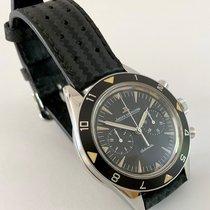 Jaeger-LeCoultre Deep Sea Chronograph Acero 40,5mm Negro Sin cifras