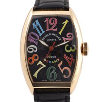 Franck Muller Color Dreams Oro rosa 32mm Nero Arabi Italia, Roma