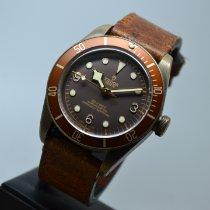 Tudor Black Bay Bronze occasion 43mm Brun Cuir