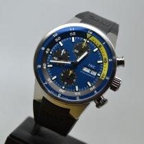 IWC Aquatimer Chronograph Acél 44mm Kék Számjegyek nélkül