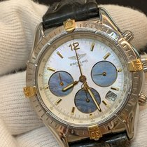 Breitling Chrono Cockpit Steel 37mm Mother of pearl No numerals