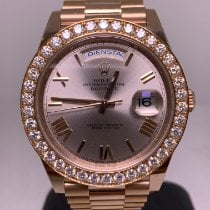 Rolex 228235 Rose gold 2016 Day-Date 40 40mm pre-owned