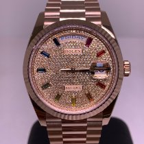 Rolex Day-Date 36 Rose gold 36mm Transparent No numerals
