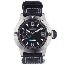 Jaeger-LeCoultre Master Compressor Diving GMT Titanium 44mm Black No numerals
