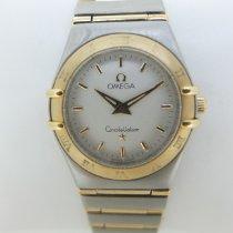 Omega Constellation Quartz usados 25mm Champán Acero y oro