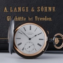 A. Lange & Söhne Watch pre-owned 1904 Gold/Steel 55,5mm Roman numerals Manual winding Watch with original box and original papers