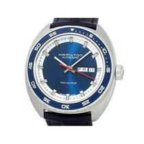 Hamilton pre-owned Automatic 42mm Blue