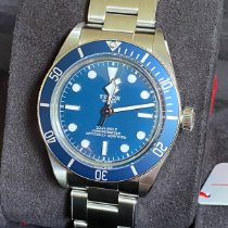 Tudor Black Bay Fifty-Eight Acier 39mm Bleu Sans chiffres