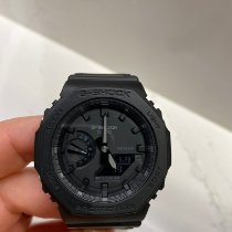 Casio Carbone 48.5mm Quartz GA-2100-1A1 nouveau France, Paris