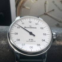 Meistersinger pre-owned Automatic 43mm White 5 ATM