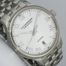 Chopard new Automatic Display back Central seconds Luminous hands Chronometer Quick Set 42mm Steel Sapphire crystal