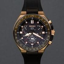 Seiko Astron GPS Solar Chronograph Titanium 46.7mm Black