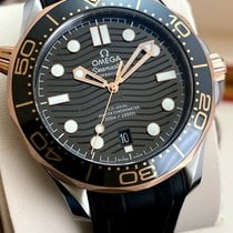 Omega Seamaster Diver 300 M Gold/Steel 42mm Black No numerals United States of America, Georgia, Atlanta