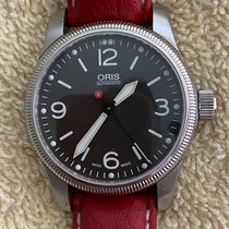 Oris Big Crown pre-owned 38mm Black Leather