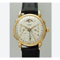 Record Rose gold 32mm Manual winding pre-owned United States of America, Michigan, stevensville