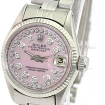 Rolex Oyster Perpetual Lady Date Steel 26mm Pink No numerals United States of America, California, Sherman Oaks