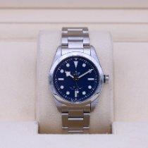 Tudor Black Bay 36 Stahl 36mm Blau Keine Ziffern