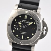 Panerai Luminor Submersible 1950 3 Days Automatic Titanium 47mm Black No numerals United States of America, Ohio, Mason