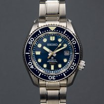 Seiko Marinemaster occasion 44.3mm Bleu Date Acier