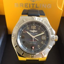 Breitling Colt GMT+ Steel 42mm Grey Arabic numerals