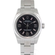 Rolex Oyster Perpetual Acero 26mm Negro