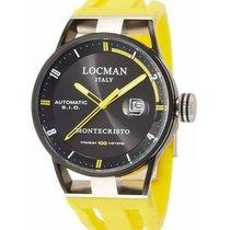 Locman new Automatic Central seconds Luminous hands 44mm Titanium Mineral Glass