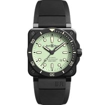 Bell & Ross BR 03 Ceramic 42mm Black No numerals