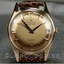 Zenith Captain Or rose 34mm Or