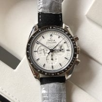 Omega Speedmaster Professional Moonwatch Steel 42mm White No numerals Singapore, singapore