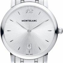 Montblanc Star Classique Steel 39mm White Arabic numerals United States of America, California, Moorpark